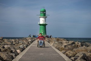 Many lighthouses and moles on the Baltic Sea of Mecklenburg-Vorpommern are accessible without barriers