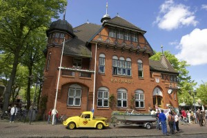 Burg's town hall, built in 1901, is a popular wedding venue even for couples from elsewhere.