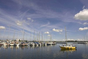 Sailors and non-sailors alike will love the island's marina.