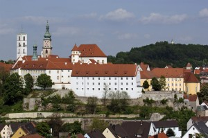 Castle and church in Sulzbach Rosenberg