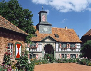 Kassel (near to): historical country estate of Bodenhausen