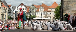 The Pied Piper open-air play in Hamelin