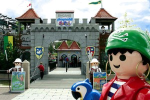 Entrance to the Playmobil Funpark in Zirndorf