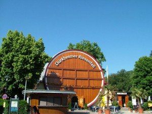 The giant wine barrel of Dürkheim
