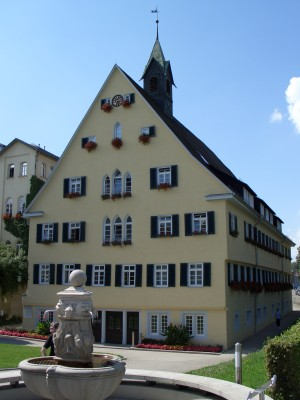 Göppingen, the Badherberge building