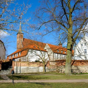 Ribnitz Abbey and the German Amber Museum (Deutsches Bernsteinmuseum), the amber town of Ribnitz-Damgarten