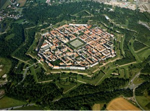 The fortress city of Neuf-Breisach, a UNESCO World Cultural Heritage Site