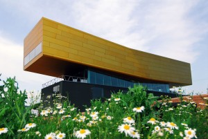 The Arche Nebra visitor centre in Wangen