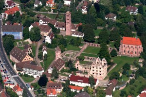 Bird's-eye view of Hirsau