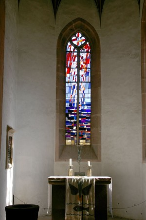 Window in Sulz Chapel