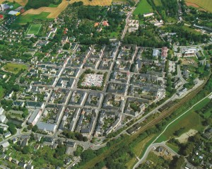A view of the hill town of Marienberg