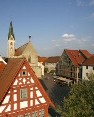 Bad Saulgau: market square
