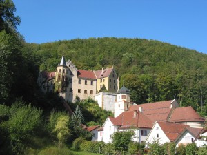 The ruins of Weissenstein Castle