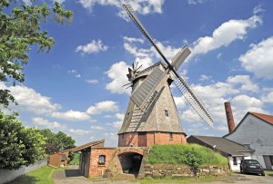 Petershagen Windmill, Büschings Mühle smock mill