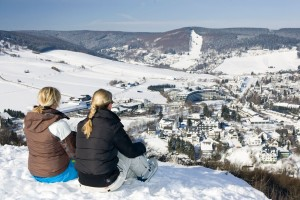 Winter view of Willingen from Orenberg hill
