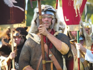 Roman Festival at Abusina Roman Fort near Eining