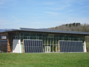 Naturparkhaus Zwiesel – solar-powered visitor centre