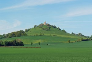 Desenberg hill – most famous landmark of the Warburger Börde region