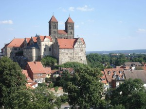 Panorama of Quedlinburg