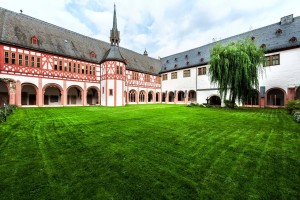 Eberbach Abbey, inner courtyard