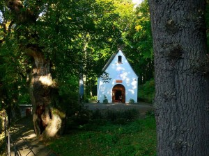 On the Trail of Strong Women, St. Mary's Chapel in Friedrichroda