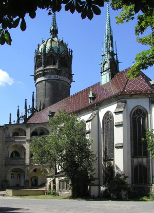The Luther Trail, All Saints' Church in Wittenberg
