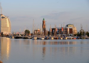 Bremerhaven, Lloyd Marina, new harbour