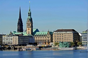 Hamburg, Alster lake
