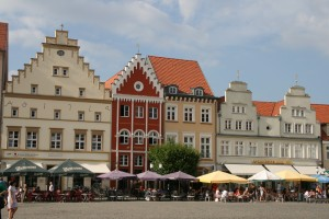 Greifswald, gabled houses
