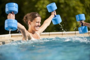 Bad Sobernheim, improving fitness with the aid of water gymnastics