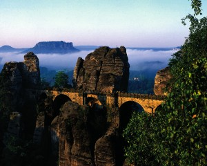 Saxon Switzerland, Bastei rocks