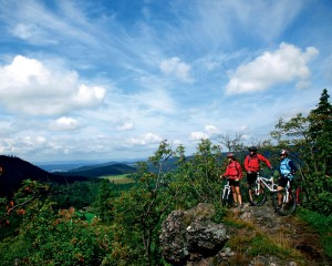 Thuringian Forest, mountain biking