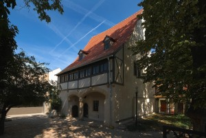 Eisleben, Luther's birthplace and museum