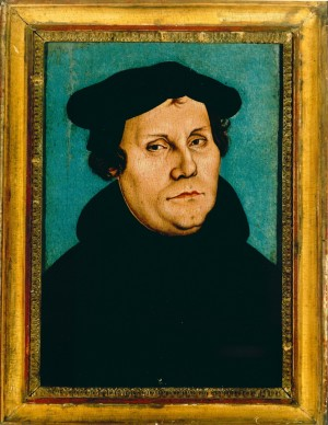 Painting of Luther