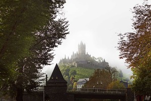 The Moselle wine region, Cochem Castle