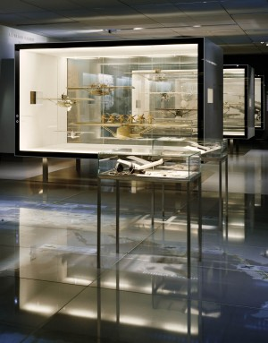 Museum Box with display cabinets