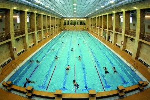 Chemnitz: municipal swimming pool in the Bauhaus style