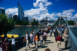 Frankfurt am Main, Eiserner Steg footbridge