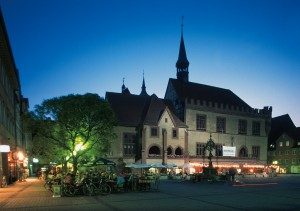 Göttingen, Old Town Hall on the market square