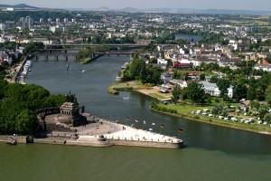 Koblenz, Deutsches Eck (German Corner)