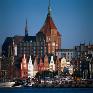 Rostock, Church of St. Mary and old town