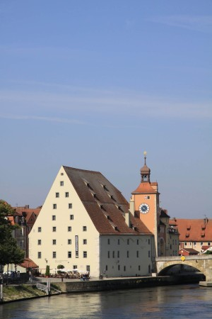 Salt store and Bridge Tower, Regensburg