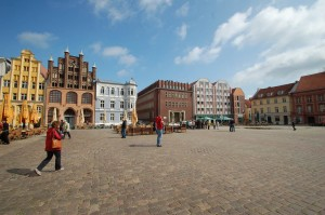 View across Alter Markt square