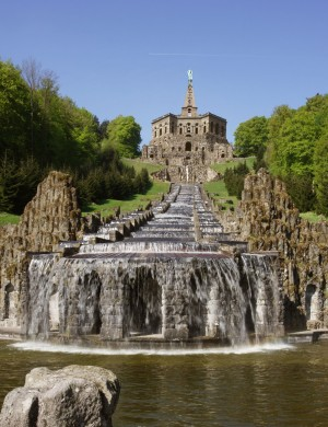 Wilhelmshöhe Park, Hercules and the waterfeatures