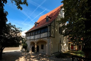 Eisleben, museum at Luther's birthplace