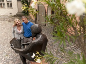 A stroll through the Cranach courtyards in Lutherstadt Wittenberg