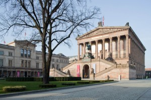Old National Gallery and New Museum, Museum Island, Berlin-Mitte